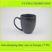 Keramik Steingut Solid Color Blank Kaffeetassen