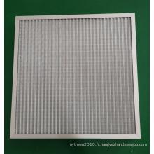 Filtre à air primaire en treillis métallique