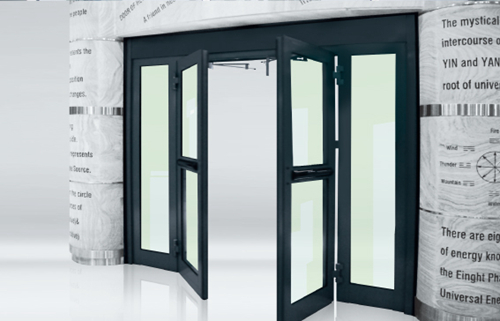 Ningbo GDoor Automatic Swing Doors for Single Parting