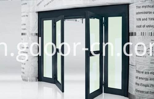 Ningbo GDoor Automatic Swing Doors for Hospital Double Parting, Automatic Swing Hermetic Hospital Door