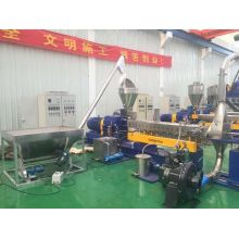 PE caco3 high filler masterbatch twin screw extruder