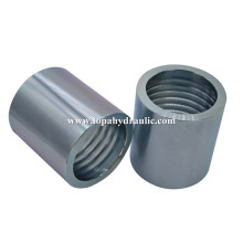 ODM for Supply Hydraulic Hose Ferrule Fittings, Hydraulic Ferrule Fittings, Hydraulic Ferrule from China Supplier zinc plating eaton rubber hose ferrule export to Egypt Supplier