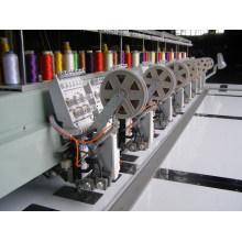 Máquina de bordar computadorizada 6needles 8heads Twin lantejoulas