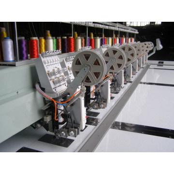 6needles 8heads Twin paillettes Machine à broder informatisée