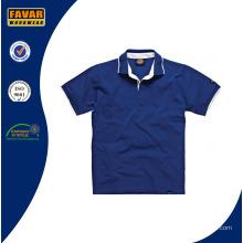 2016 nuevo diseño de camisa de Polo de algodón 100% Men′s