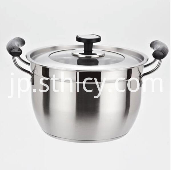 Large Stainless Steel Soup Pot
