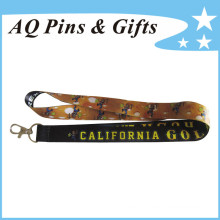 Custom Polyester Lanyards with Logo (Lanyard-109)
