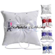 2016 lace decoration Exquisite workmanship Royal Blue bridal wedding ring bearer pillow