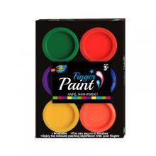 6 cores 22ml s et Finger paint