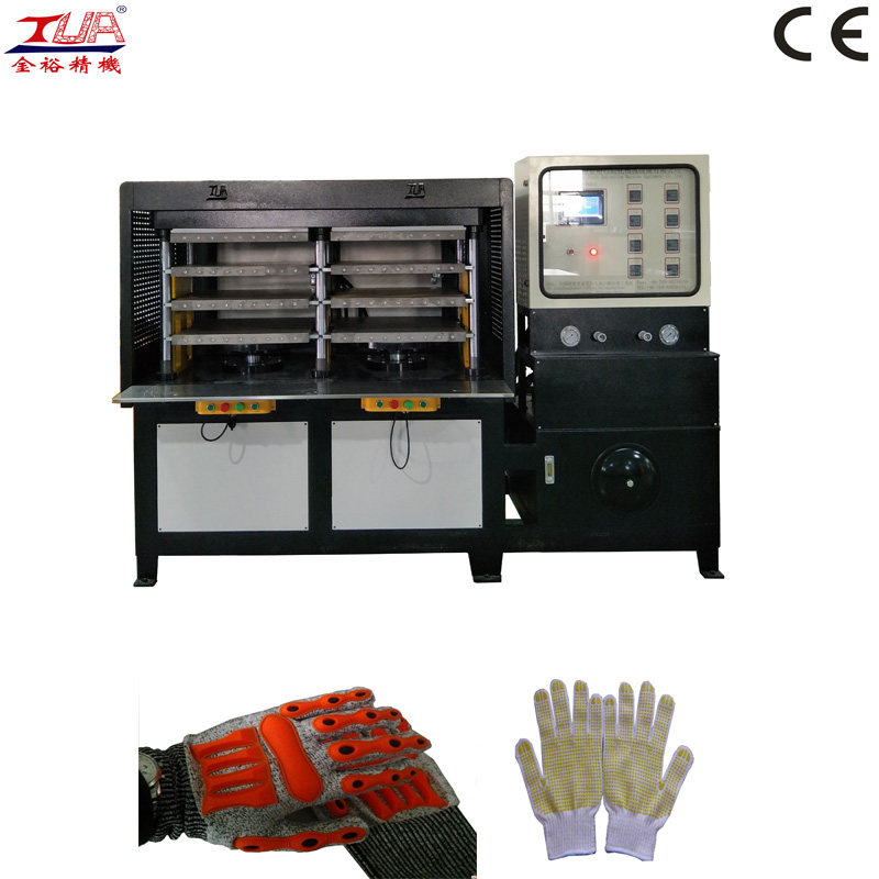 Handschuhe Upper Embossing Molding Machine Equipment