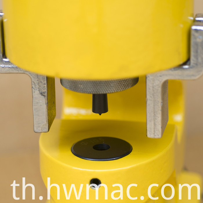 hydraulic busbar punching machine