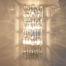 Factory selling for Traditional Crystal Light decorate vintage luxurious crystal wall lamp supply to Portugal Suppliers