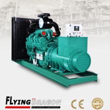 Generador diesel silencioso de 700kw para el generador dinámico eléctrico del alterno del respaldo 875kva alterno por el motor de los cummins