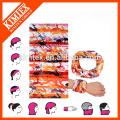 Seamless wholesale cheap custom logo headwear