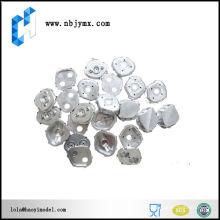 Cnc torneamento alumínio carimbando peças com alta precisão e preço competitivo