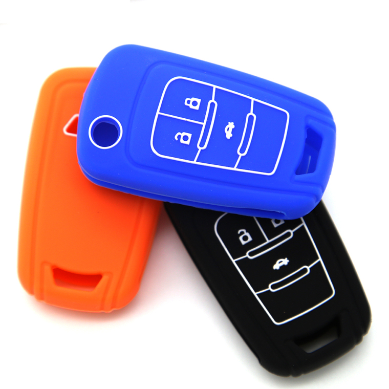 Chevrolet Embossed Remote Key case
