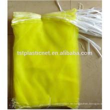 100% neue HDPE monofilament fruit picking mesh taschen 40 * 60 cm