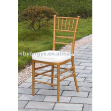 padded plastic chiavari chair