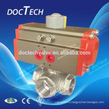 Пневматические поток 3-полосная клапан СС материал
