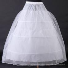 Grace Karin A-Line vestido de novia de la boda 3 aros enaguas Crinoline suavidad CL2705