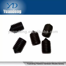 Cone point set screw /set screw /black oxide set screw/ Sharp point set screw