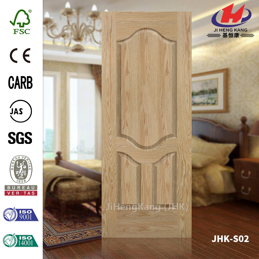 Hollow HDF Oak Veneer Laminating Door Panel