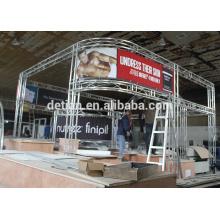 Cabine de exposição grátis estande design personalizado cabine de exposição e construção em Xangai na china