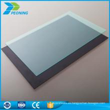 Placa de techo transparente de policarbonato sólida de la PC de 18m m de la mejor opción al por mayor