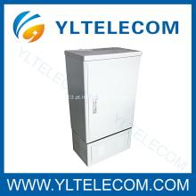 fibra de Outdoor 144 núcleos Conexão óptica Cruz Telecom Cabinet(FDH)