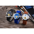 Оптовые продажи пользовательских водонепроницаемый силиконовый браслет часы