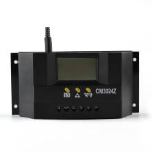 2015 Regulador de carga solar de 30A 12V / 24V Regulador Fot Painel de bateria solar Proteção segura com CE Certify