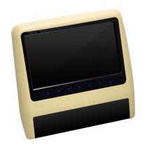 9 pulgadas coche reposacabezas portátil DVD con HDMI
