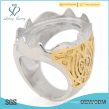 Newest fashion stainless steel rings, design your own modis indonesia rings