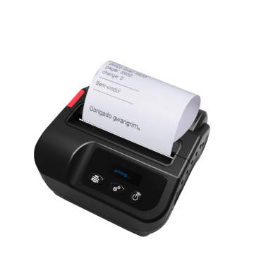 Pockect 1400mAh Battery 3inch Bluetooth Printer