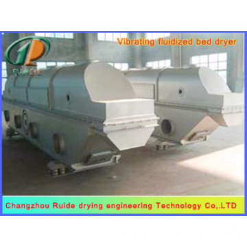 Vibrating fluidized bed dryers of lees