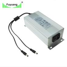 Aluminium Case Dual Output 24 Volt 6 AMP AC DC Power Supply Fy2406000