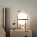 Classic Wooden Table Lamp