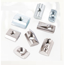 Accessories Manufacturing M5 T-nut With Top Spring Ball With Guidance I-Type Slot 8