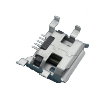 MICRO USB TYPE B RECEPTACLE TYPE INVERSEUR