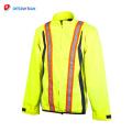 2018 professionnel personnalisé vêtements de travail LED sécurité veste réfléchissante