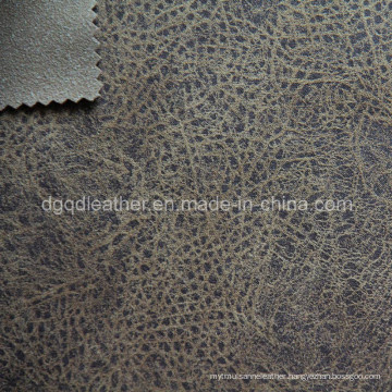 High Quality Breathable PU Furniture Leather (QDL-FB0003)
