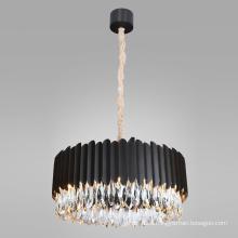 Dining room stainless steel black chandeliers E14 modern design kitchen led pendant light