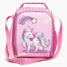 Large  lunch bag  for school kids 3D Unicorn lunch bag for girls