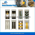 Steel Elevator Door Plate / Lift Door Plate in Mirror Golden