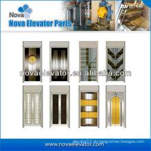 Stahl Aufzug Tür Platte / Aufzug Tür Platte im Spiegel Golden