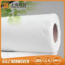 Rollos de tela no tejida spunlace viscosa 60% viscosa al 40%
