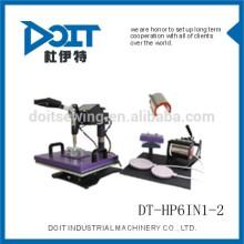 6 in 1-2 Transfer Hitze Drücken Sie DT-HP6IN1-2