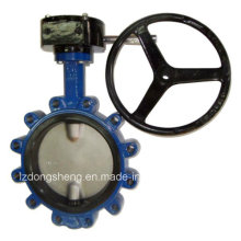 Cast Iron Worm Gear Wafer Butterfly Valve