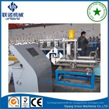 Almacén de almacenamiento de acero rolling rollo que forma la máquina