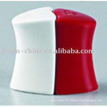 Ceramic salt&pepper set JX-22AR
